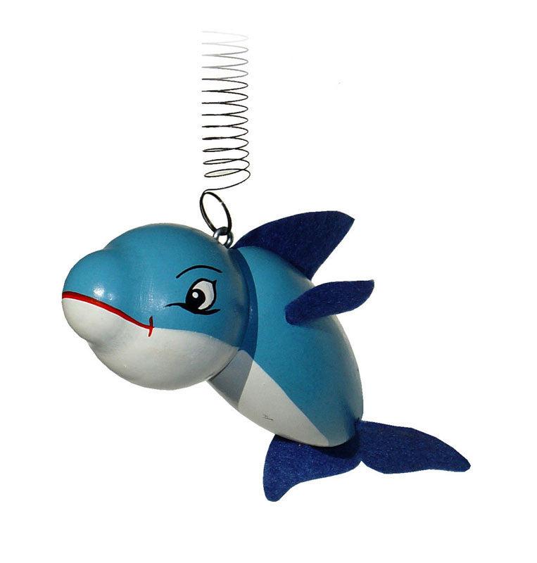 Baby Dolphin Handcrafted Wooden Jumpie