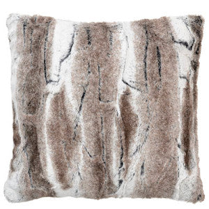 Birch Luxury Faux Fur Pillow Sham