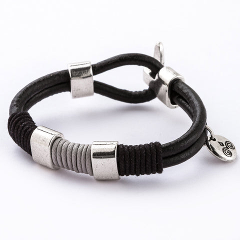 Subtle Elegance Leather Bracelet