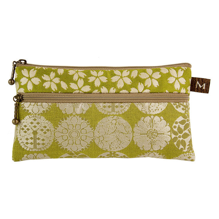 Maruca Heidi Wallet in Brooch Green