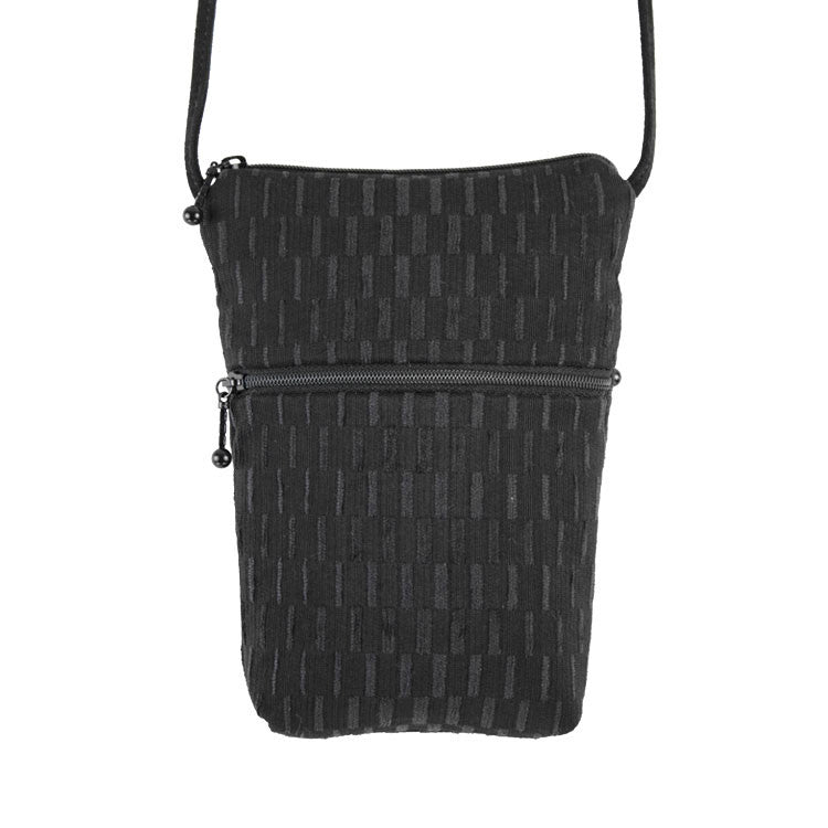 Maruca Sprout Handbag in Basket Black