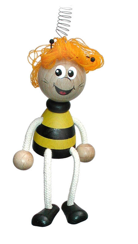 Bee Girl Handcrafted Wooden Jumpie