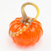 Handblown Glass Pumpkin in Bright Orange