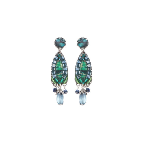 Green River Nicole Earrings by Ayala Bar