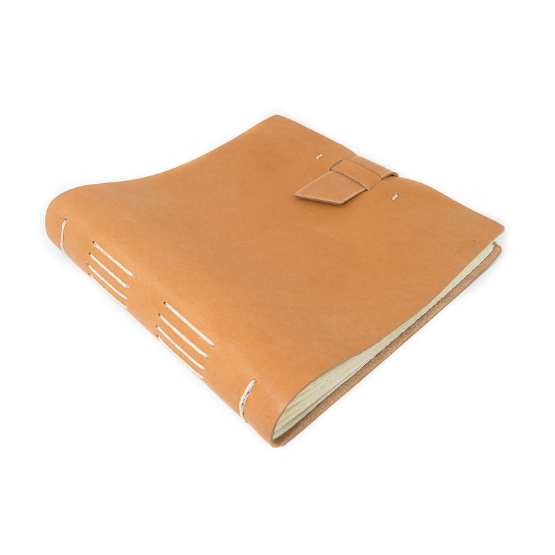 Leather Big Idea Album with Buckle - Available in Multiple Colors