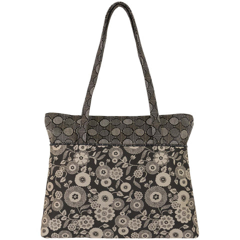 Maruca Boxcar Handbag in Parasol Black