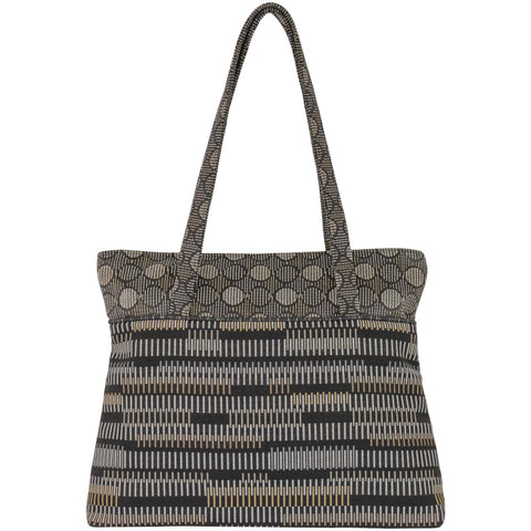 Maruca Boxcar Handbag in Zen Black
