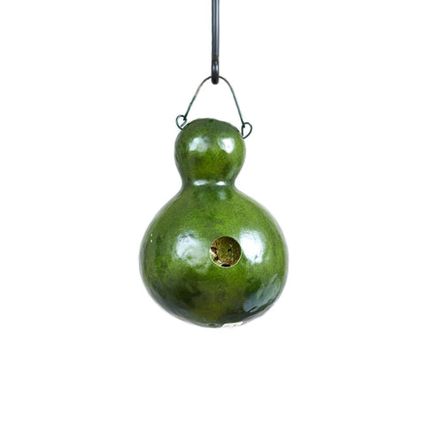 Bungalow Birdhouse Gourd - Available in Multiple Colors