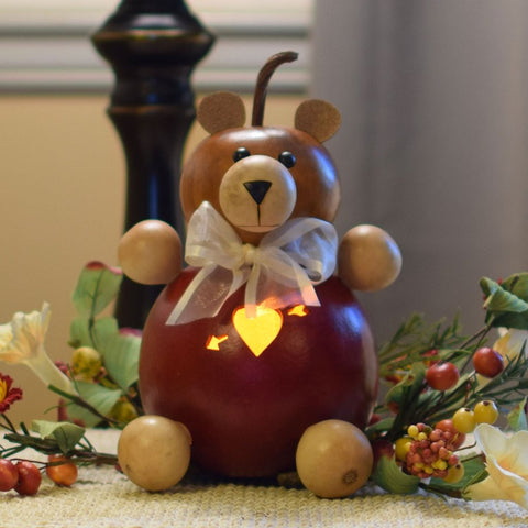 Teddy the Valentine Bear Gourd