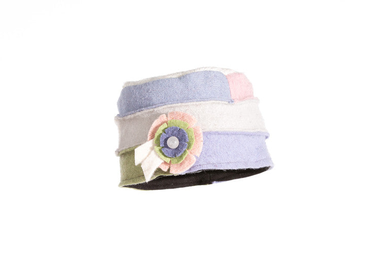Wool Cloche Hat in Pastel
