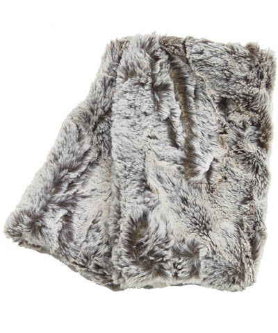 Khaki Luxury Faux Fur Fingerless Gloves