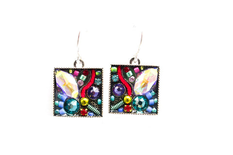 Soft Luxe Medley Square Earrings by Firefly Jewelry