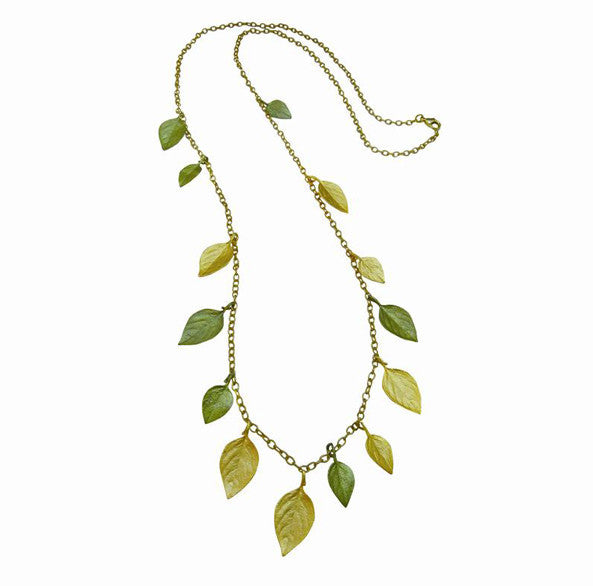 Basil 36 Inch Long Necklace by Michael Michaud
