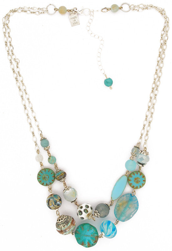 Under the Sea Necklace by Desert Heart