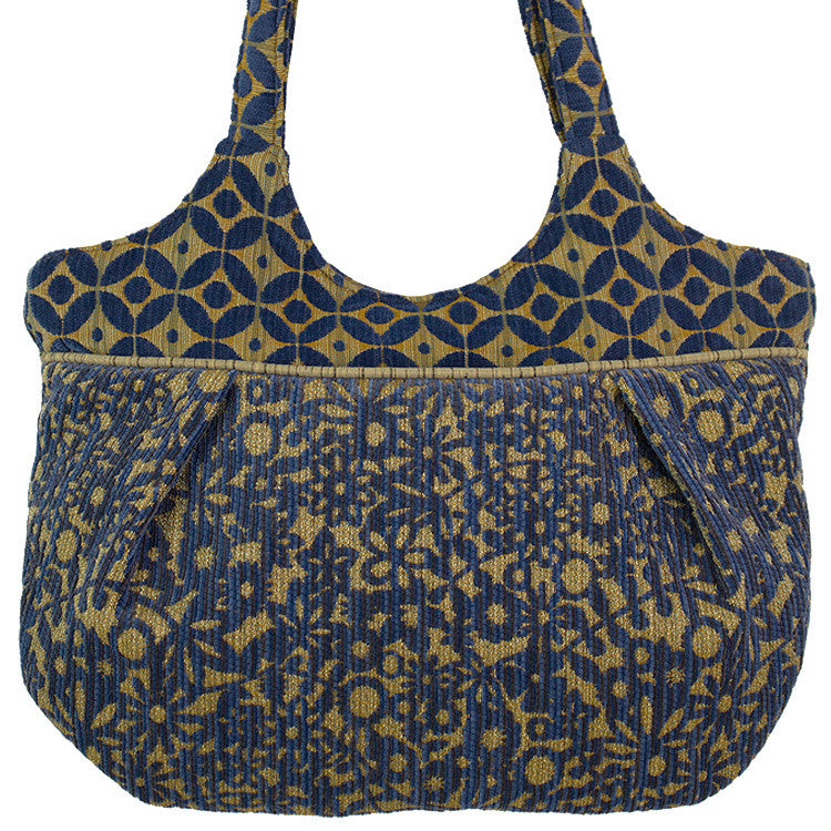 Maruca Monarch Handbag in Blue Boy