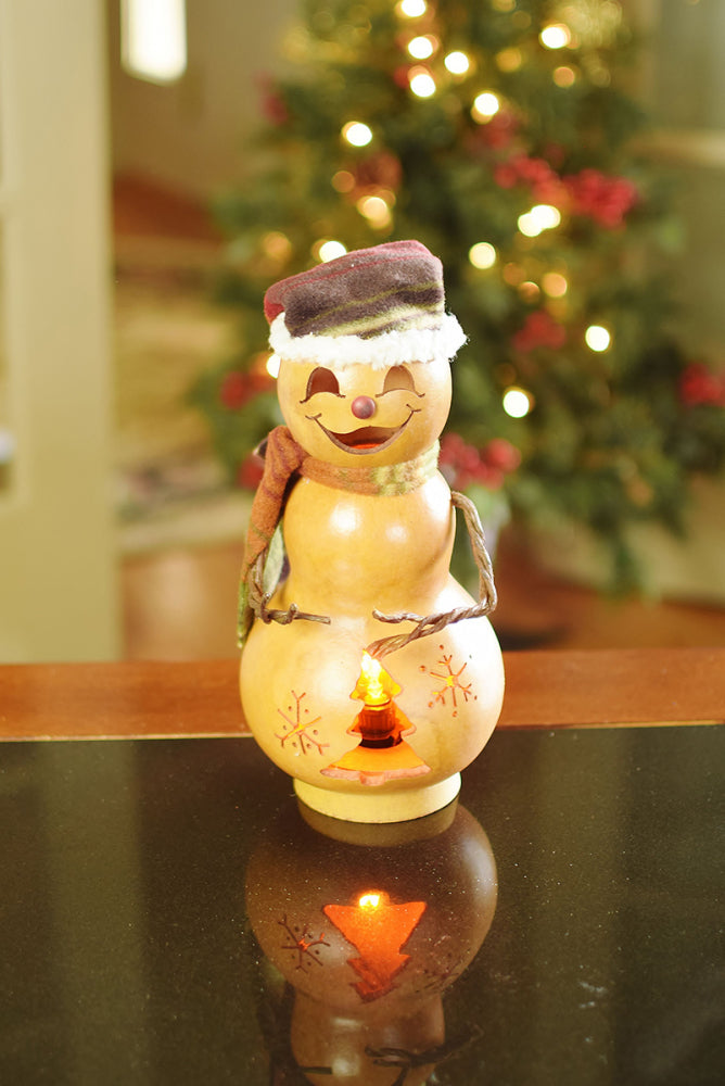 Brrr Snowman Gourd - Available in Multiple Sizes