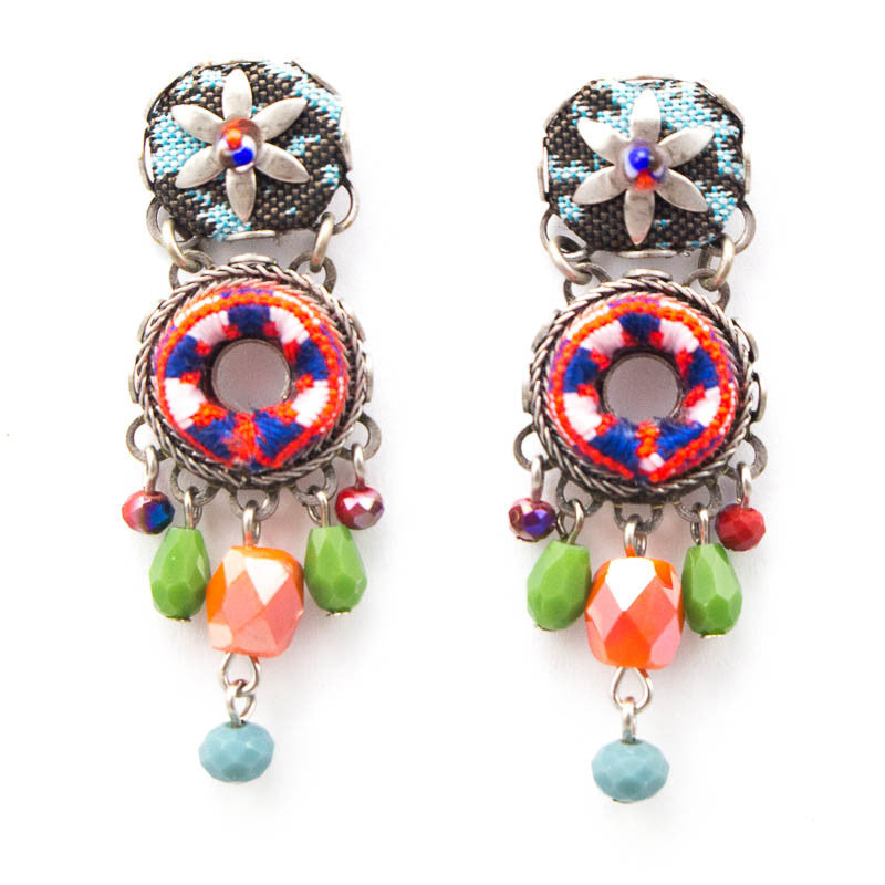 Crimson Queen Hip Collection Earrings by Ayala Bar
