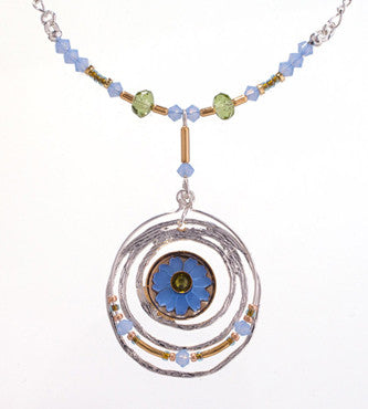 Crop Circle Necklace by Wanna Buy A Watch?