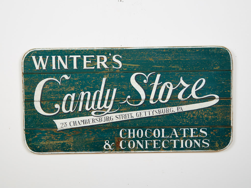 Winter's Candy Store Americana Art