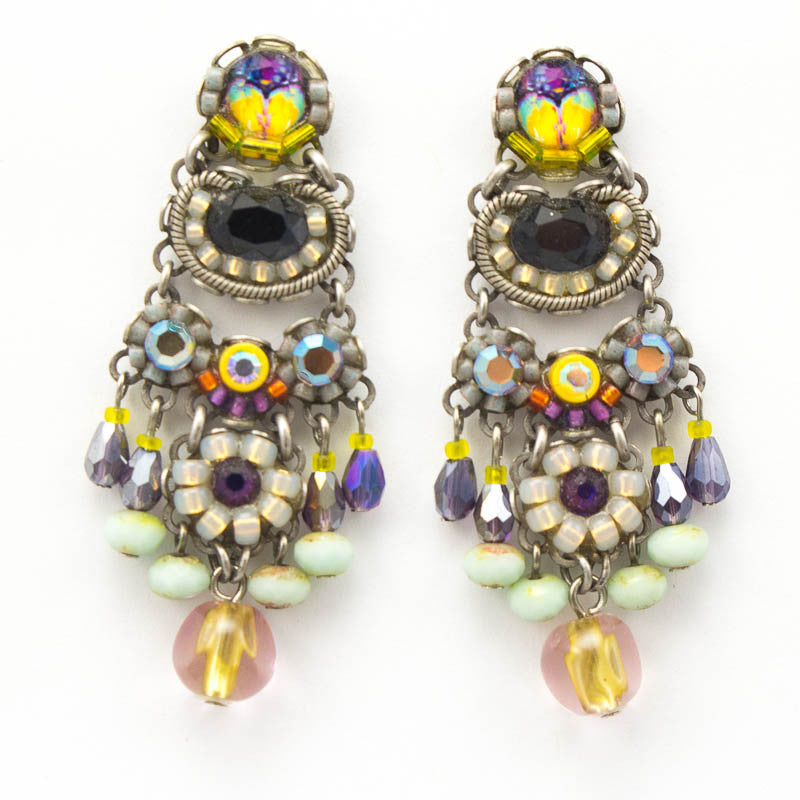 Harlequin Large Classic Collection Earrings by Ayala Bar