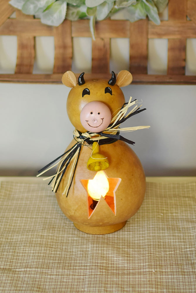 Bessie the Cow Gourd - Available in Multiple Sizes