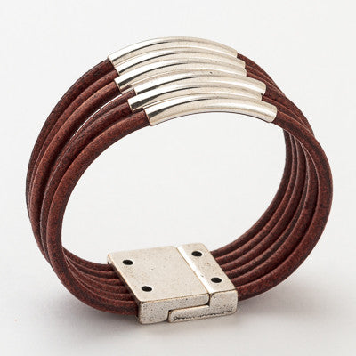 Global Trend Leather Bracelet