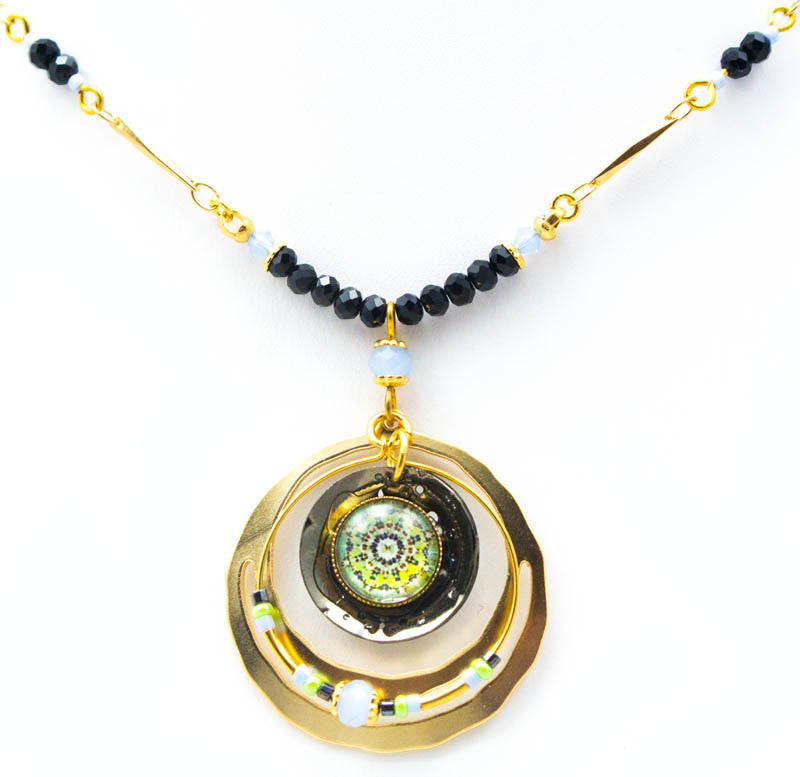 Bindi Blue Necklace by Wanna Buy A Watch?