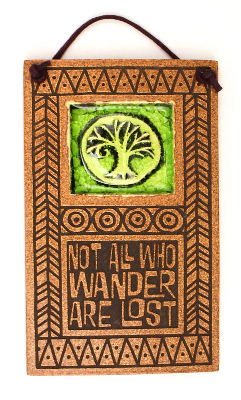 Not all Who Wander Glass and Ceramic Tile