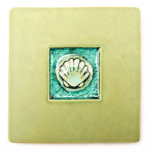 Scallop Shell Coaster