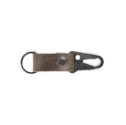 Leather Clip Keychain - Available in Multiple Colors