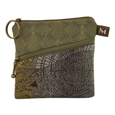 Maruca Roo Pouch in Pewter Forest