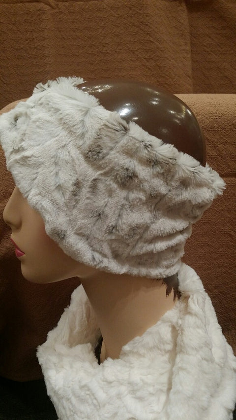 Winter Frost Luxury Faux Fur Headband