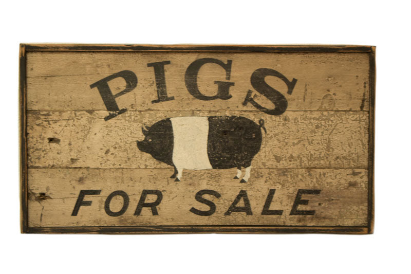 Pigs for Sale Americana Art