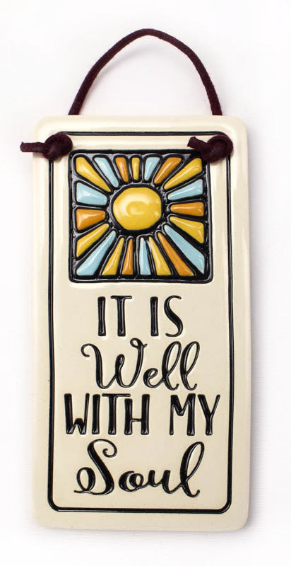 With my Soul Charmer Ceramic Tile
