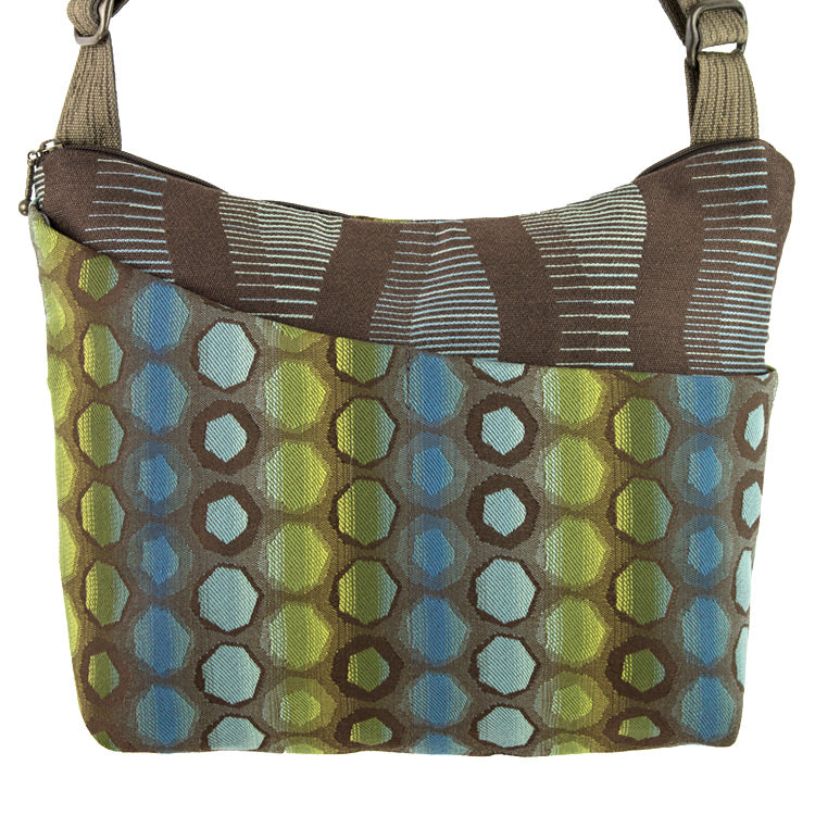 Maruca Cottage Bag in Mindscape Blue