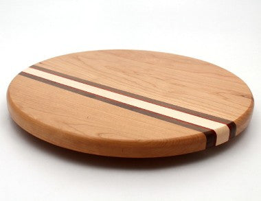 Lazy Susan with Stripes in Cherry - Size 14""