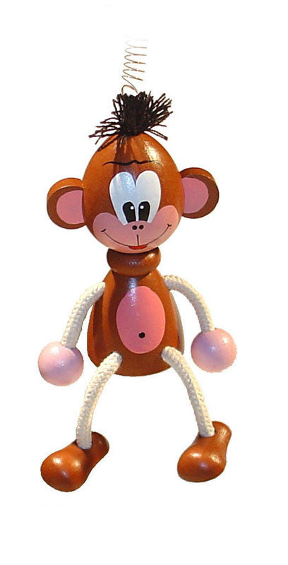 Chimp Handcrafted Wooden Jumpie