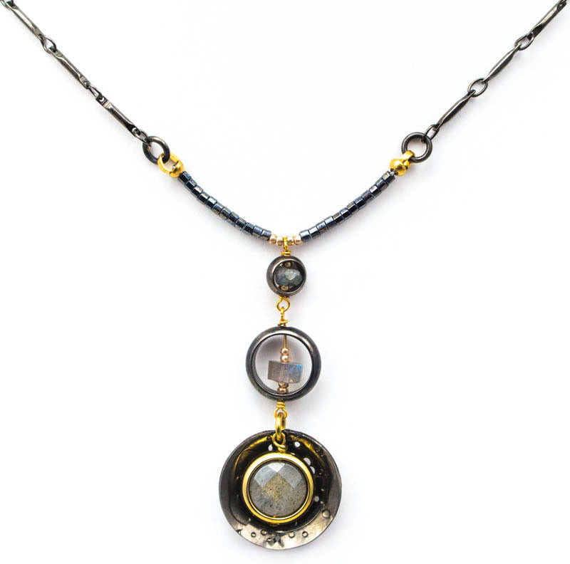 Pull of the Moon Necklace by Wanna Buy A Watch?