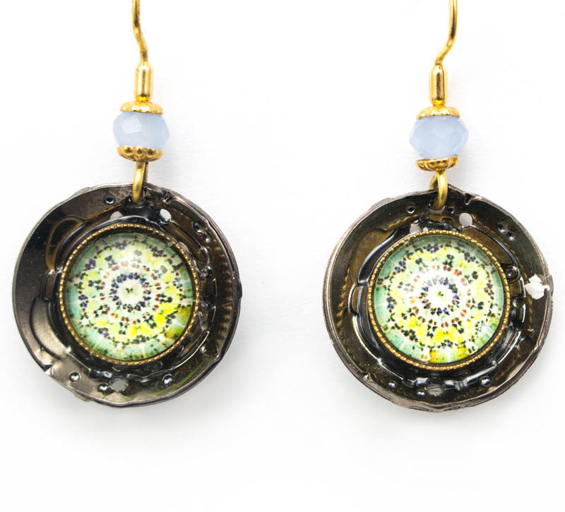 Bindi Blue Earrings by Wanna Buy A Watch?