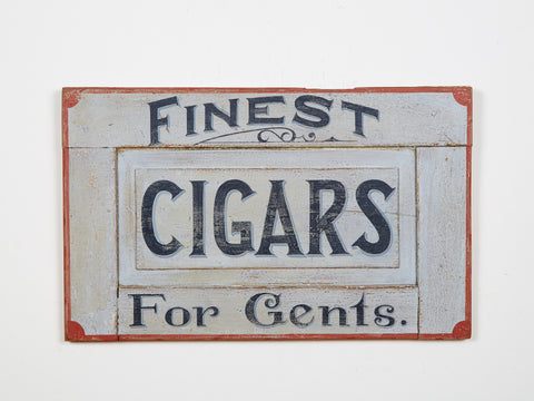 Finest Cigars for Gents Americana Art