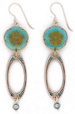 Flower Du Lac Earrings by Desert Heart