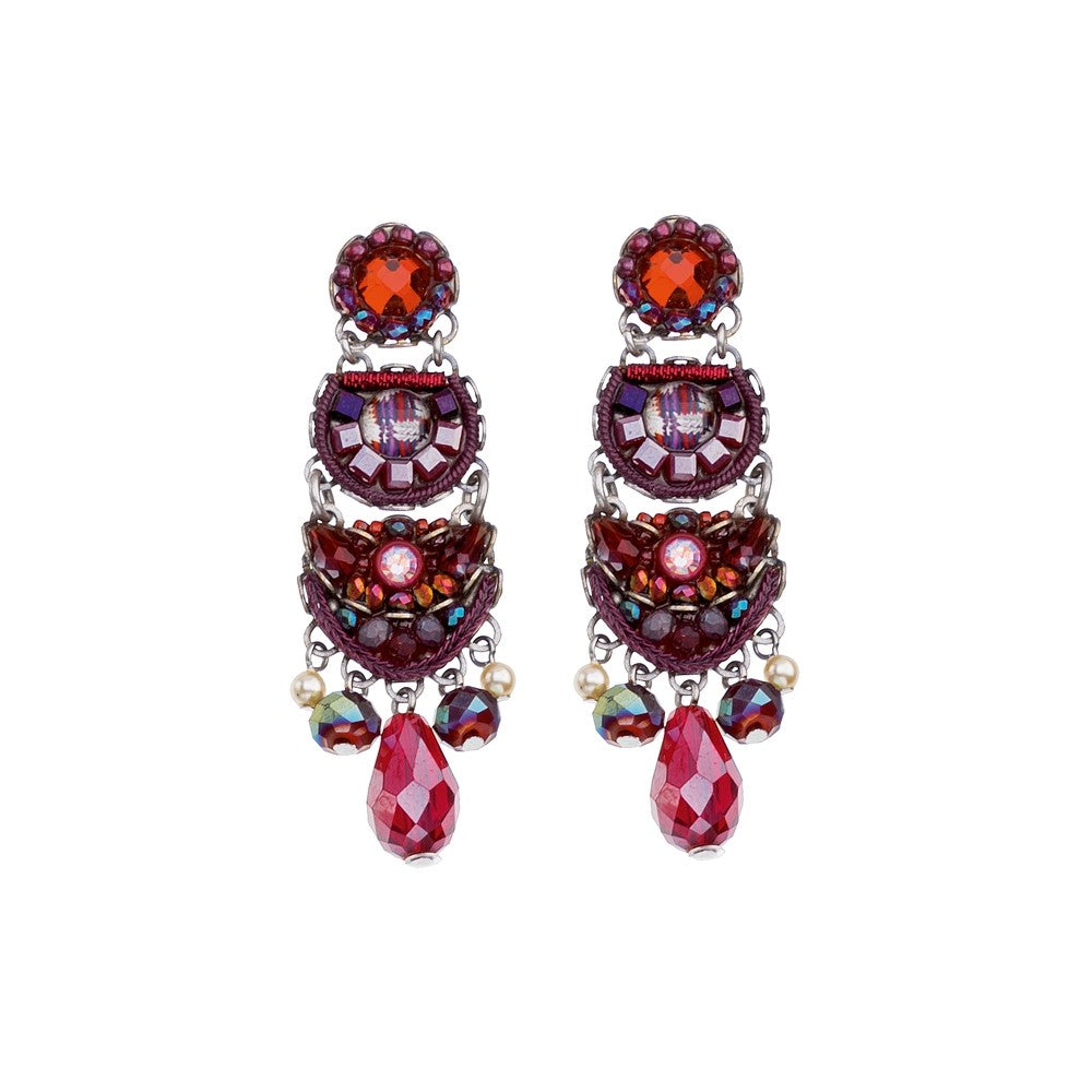 Ruby Tuesday Fayre Earrings by Ayala Bar