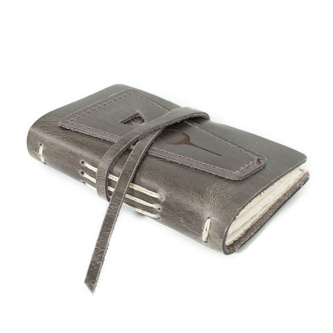 Leather Golf Log with Pocket - Available in Multiple Colors