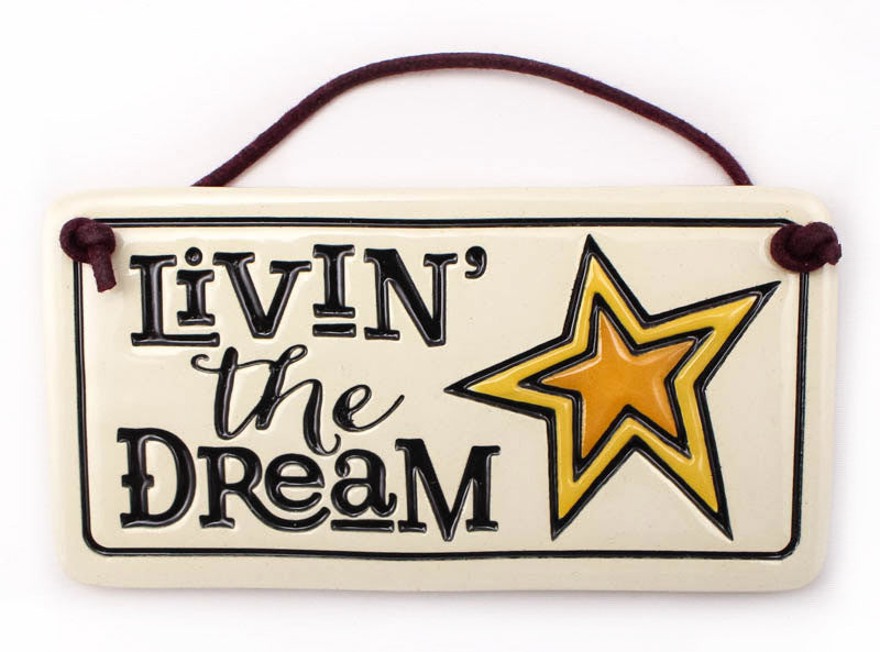 Livin' the Dream Charmer Ceramic Tile