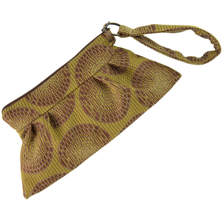 Maruca Chica Wristlet in Sliced Citron