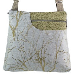Maruca Worker Bee Handbag in Branch Celadon