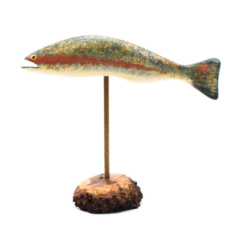 Pedestal Rainbow Trout Large by Chris Boone