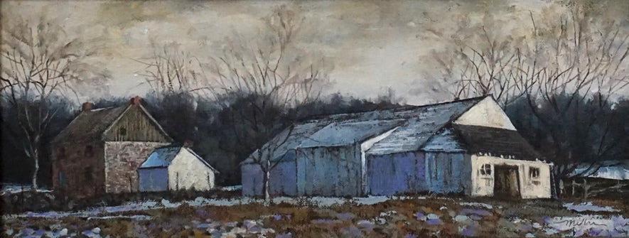 """Graves Dotted the Yard..."" The George Weikert Farm by Harold Miller"