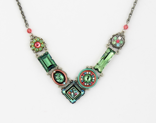 Erinite La Dolce Vita V Necklace by Firefly Jewelry