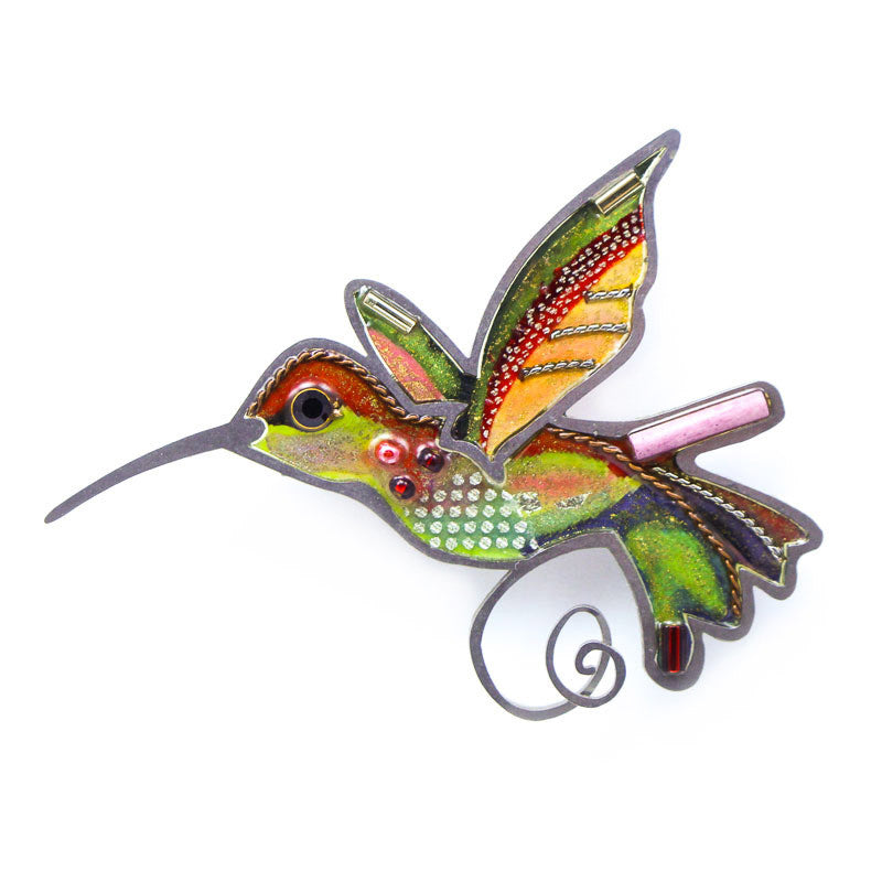 Dainty Hummingbird Pin